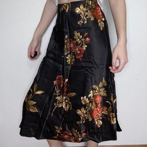 H&M Satin Circle Skirt